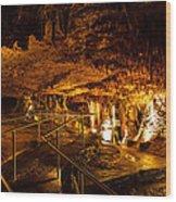 Cavern Path 3 Wood Print