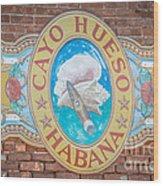 Cayo Hueso Habana Key West - Hdr Style Wood Print