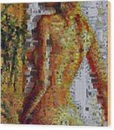 Cbist Nude Wood Print