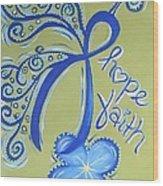 Cc Hope Wood Print
