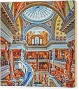 Ceasar's New Palace Wood Print
