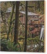 Cedar Creek Grist Mill 2 Wood Print