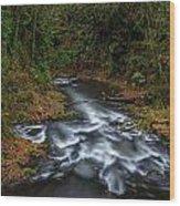 Cedar Creek Horiz. Wood Print
