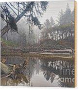 Cedar Creek Lagoon Wood Print