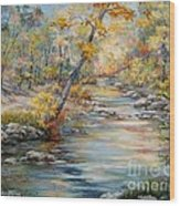 Cedar Creek Trail Wood Print