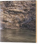 Cedar Falls At Petit Jean State Park - Arkansas Wood Print