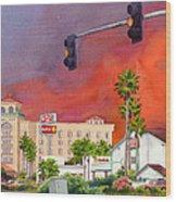 Cedar Fire San Diego 2003 Wood Print