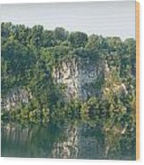 Cedar Hollow Quarry Panorama Wood Print