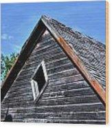 Cedar Shingles Wood Print