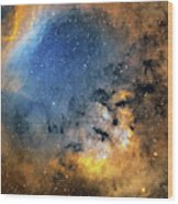 Cederblad 214 Emission Nebula Wood Print