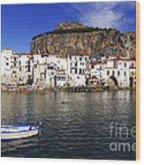 Cefalu - Sicily Wood Print