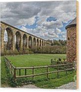 Cefn Viaduct Wood Print by Adrian Evans