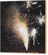 Celebrate A New Year Wood Print