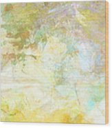 Celebrate Spring Abstract Art  Wood Print
