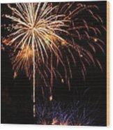 Celebrate Wood Print