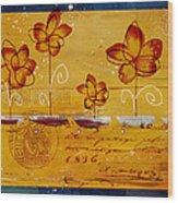 Celebrate - Txt02t2 Wood Print