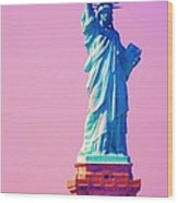 Celebrating Lady Liberty # 3 Wood Print