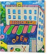 Celebration Hoboken #3 Wood Print