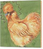 Celestial Chicken Sweet Potato Wood Print