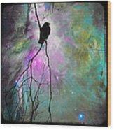 Celestial Dream Of Crow Wood Print