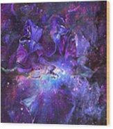 Celestial Goddess Wood Print