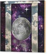 Celestial View Wood Print