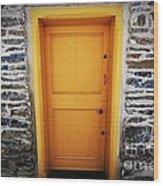 Cellar Door Wood Print