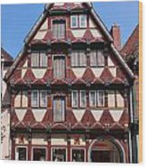 Celle Old Houses Wood Print