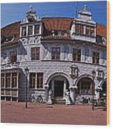 Celle Rathaus Wood Print