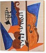 Cello II Wood Print