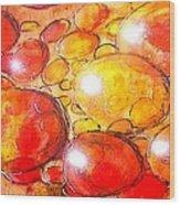 Cells Wood Print