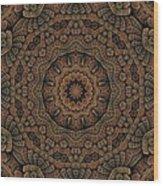 Celtic Blossom K12-og-4 Wood Print