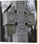 Celtic Cross 10194 Wood Print