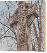 Celtic Cross   3d22463 Wood Print