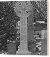 Celtic Cross - Charleston South Carolina Wood Print