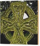 Celtic Cross Wood Print