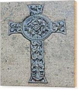 Celtic Cross IIi Wood Print