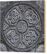 Celtic Cross Symbolism Wood Print