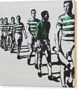 Celtic Fc Wood Print