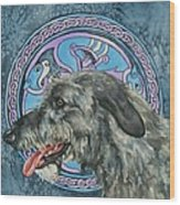 Celtic Hound Wood Print