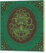 Celtic Pagan Fertility Goddess Wood Print