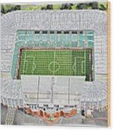 Celtic Park Stadia Art - Celtic Fc Wood Print