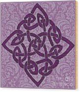 Celtic Wedding Knott Wood Print