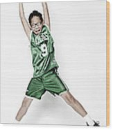 Celtics Fan Wood Print