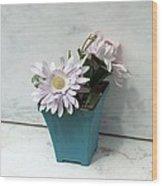 Cemetary Flowers 3 Wood Print