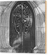 Cemetery Door 1 Wood Print
