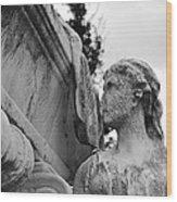 Cemetery Gentlewoman Wood Print