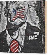 Censorship Expressed Mural Wood Print
