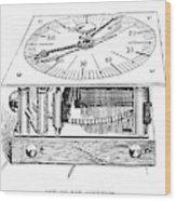 Census Machine, 1890 Wood Print