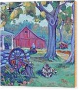 Centennial Morning Wood Print